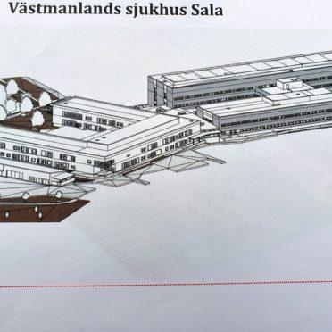 Region Västmanland bygger nytt i Sala